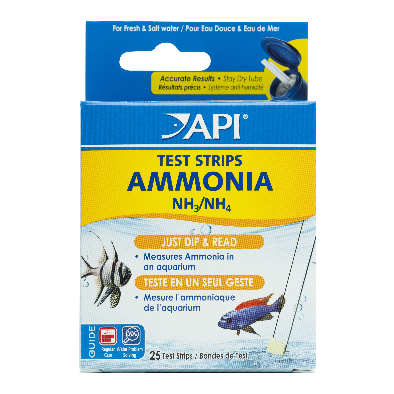 AMMONIA TEST STRIPS