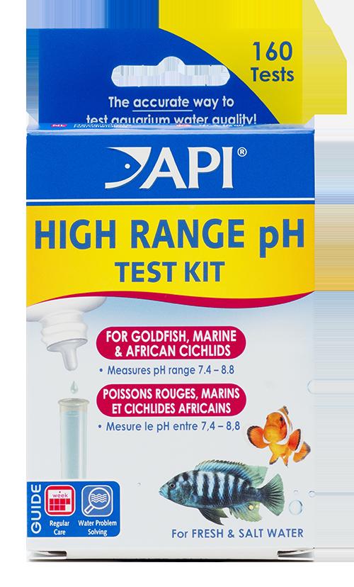 HIGH RANGE pH TEST KIT