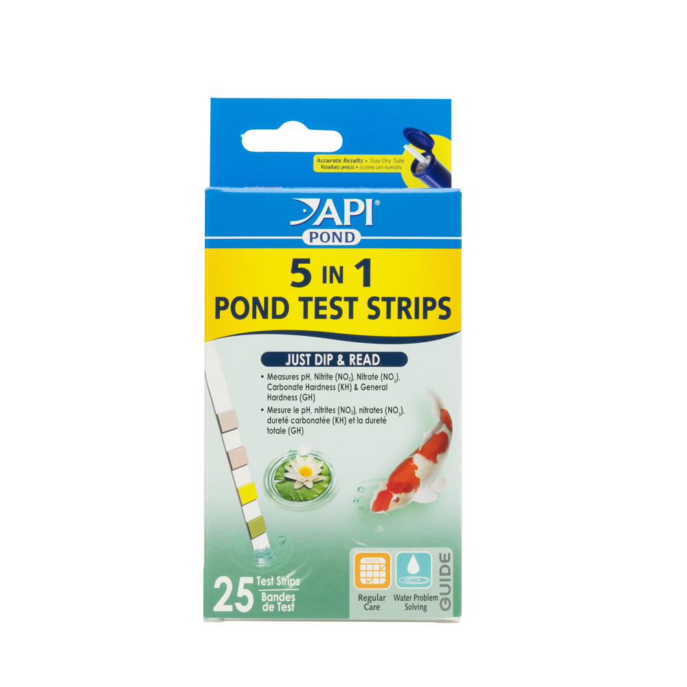 POND 5-IN-1 TEST STRIPS
